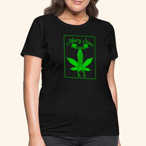 MARJ JANE - PUFF PASS - WEED SMOKER SHIRT FOR MEN - Women's T-Shirt