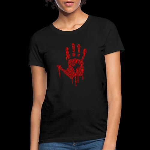 The Haunted Hand Of Zombies - Women's T-Shirt
