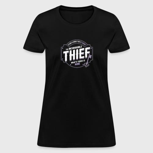 Thief Class Fantasy RPG Gaming - Women's T-Shirt
