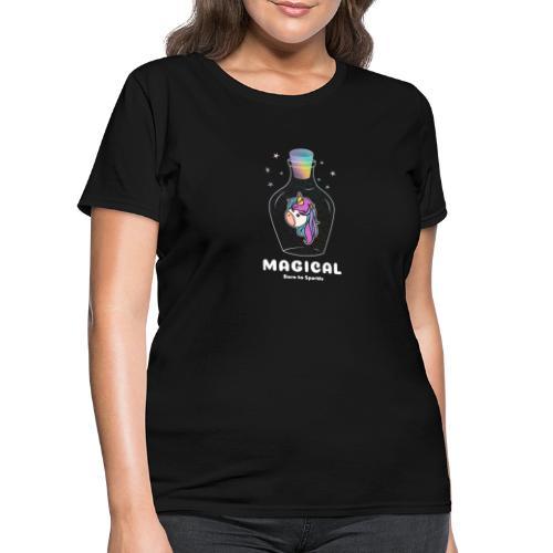 magical bottle design - Women's T-Shirt