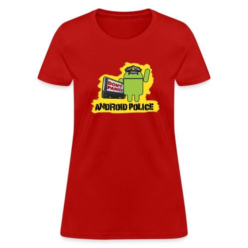 Debeloid Design 3 front - Women's T-Shirt