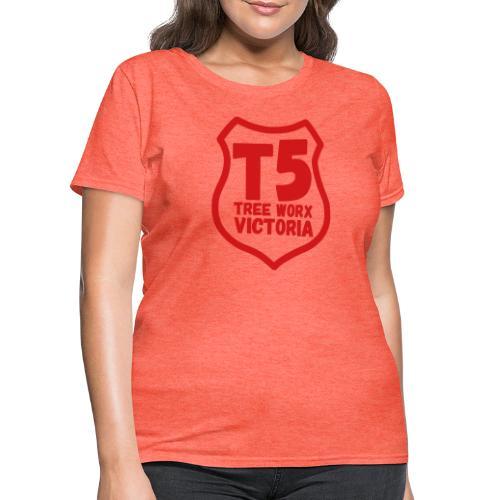 T5 tree worx shield - Women's T-Shirt