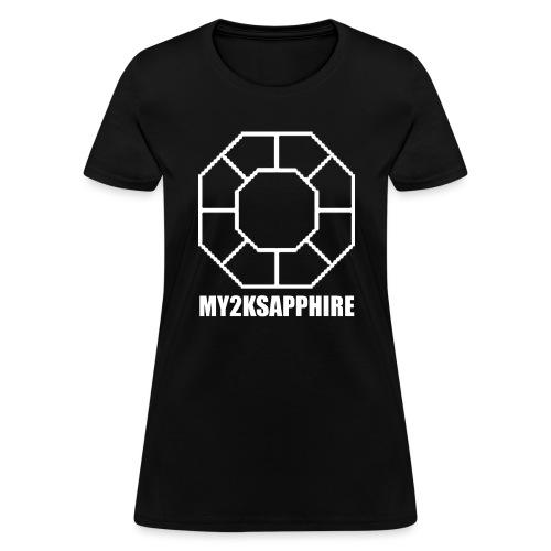 Unisex White Sapphire Hoodie - Women's T-Shirt