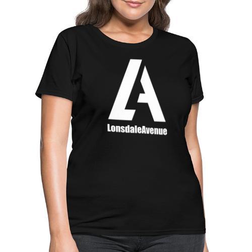 Lonsdale Avenue Logo White Text - Women's T-Shirt