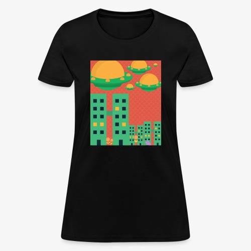 wierd stuff - Women's T-Shirt