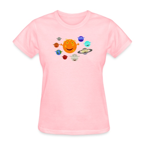 The Solar System - Women's T-Shirt