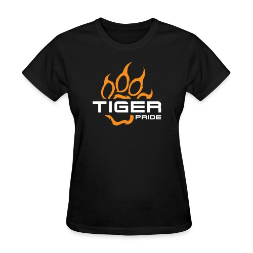 IV Tiger Pride on Black - Women's T-Shirt