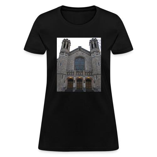 Gothic church frontage - Women's T-Shirt