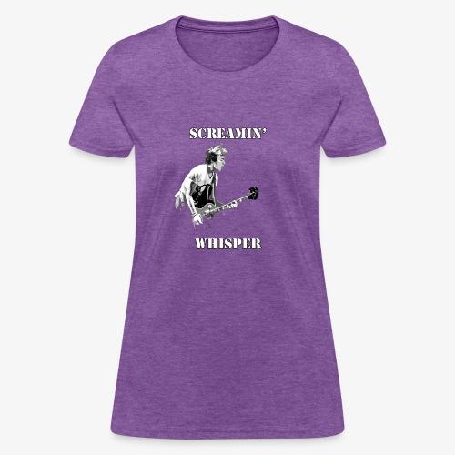 Screamin' Whisper Filth Design - Women's T-Shirt