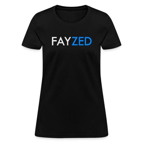 FAYZED Banner Shirt png - Women's T-Shirt