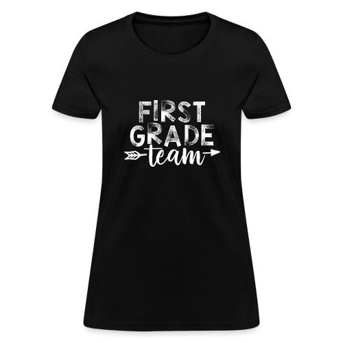 First Grade Team Arrow Teacher T-Shirts - Women's T-Shirt