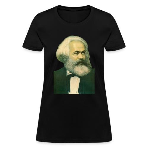 Karl Marx Portrait - Women's T-Shirt