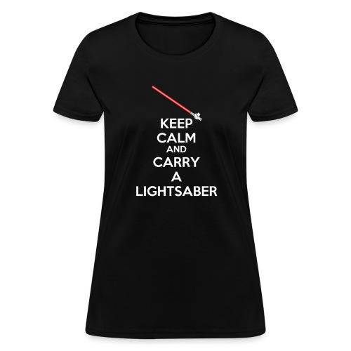 kc lightsaber final - Women's T-Shirt