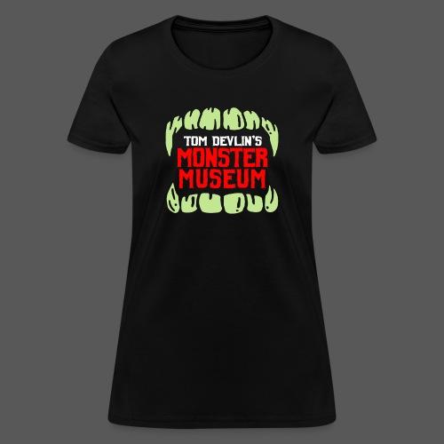Monster Museum Mouth - Women's T-Shirt