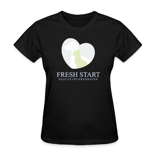 Fresh Start LogoPALE - Women's T-Shirt