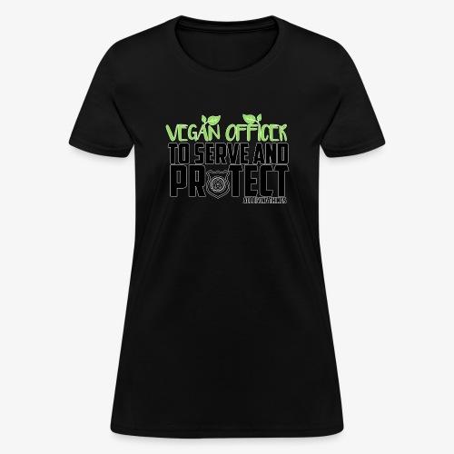 vegan officer - Women's T-Shirt