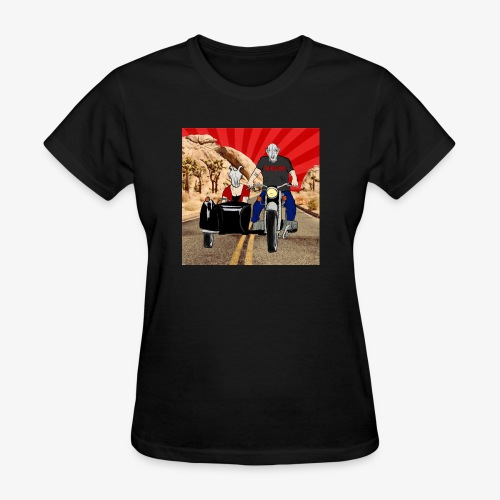 THE BELLE ENDS EASY RIDERS - Women's T-Shirt