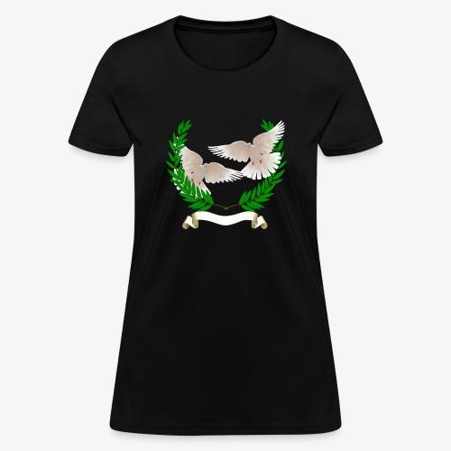 OLIVE BRANCH DOVES - Women's T-Shirt