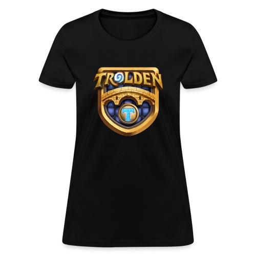 troldenlogowithtfin - Women's T-Shirt