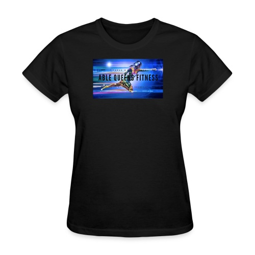 Able Queens Fitness Logo - Women's T-Shirt