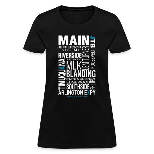 Jacksonville Streets - Women's T-Shirt