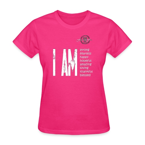 I AM ... Feminine and Fierce - Women's T-Shirt