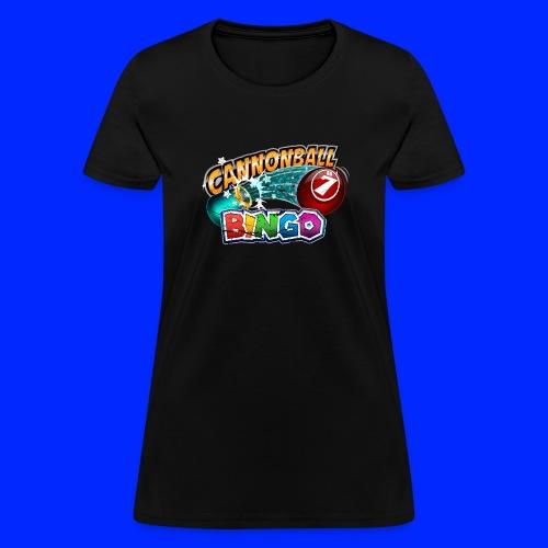 Vintage Cannonball Bingo Logo - Women's T-Shirt