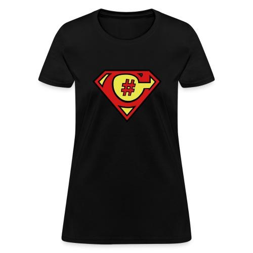 C# Hero Woman - Women's T-Shirt