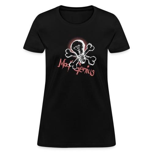 Mad Genius - On Dark - Women's T-Shirt