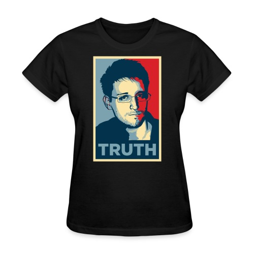 Snowden Truth jpg - Women's T-Shirt