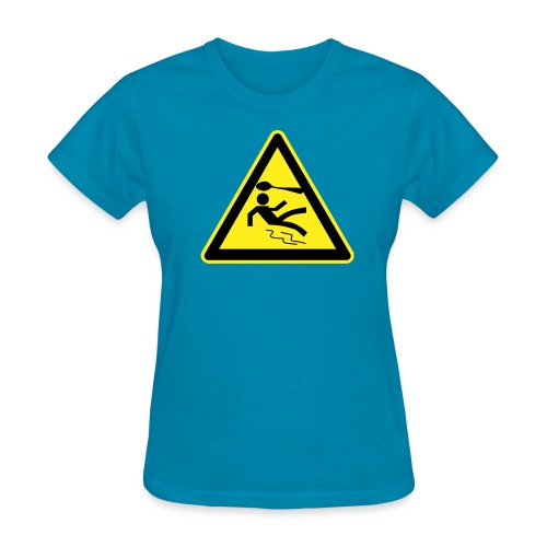 spoon warning sign - Women's T-Shirt