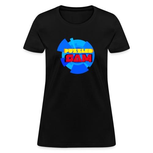 PuzzledSam Logo - Women's T-Shirt