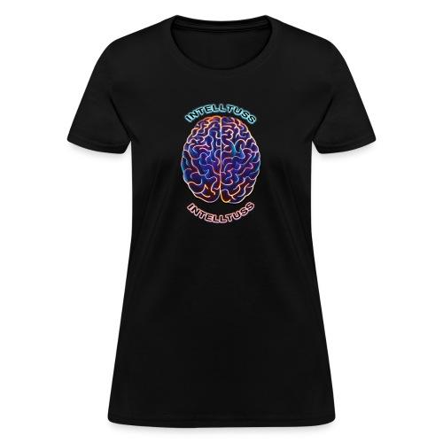 #IntellTuss (Chest Shirt) - Women's T-Shirt