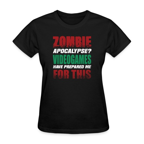 Zombie Videogames Gaming - Women's T-Shirt