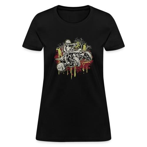 ATV Halloween Zombies - Women's T-Shirt