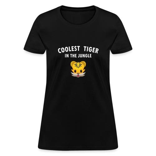 Coolest Tiger Hoodie - Women's T-Shirt