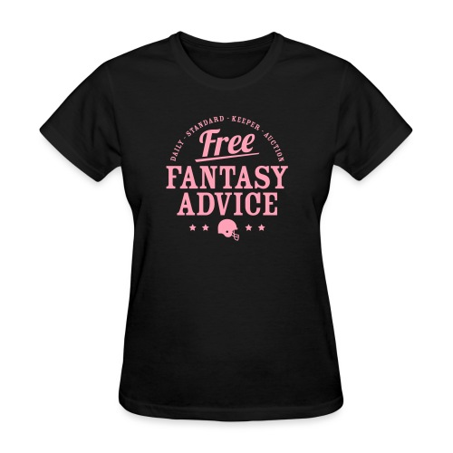 Free Fantasy Football Advice - Women's T-Shirt