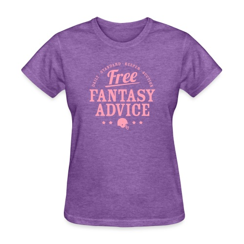 Free Fantasy Football Advice - Women's T-Shirt