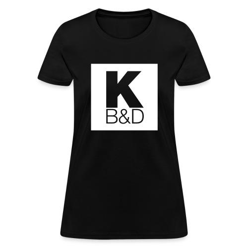 KBD_White - Women's T-Shirt