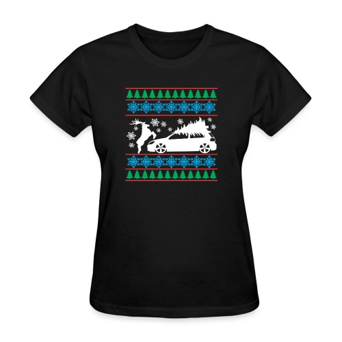MK6 GTI Ugly Christmas Sweater - Women's T-Shirt