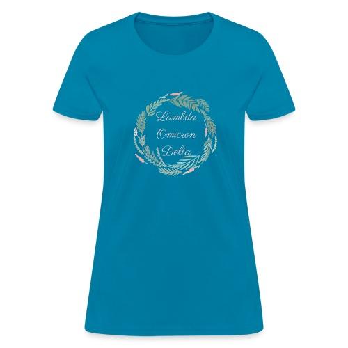 LOD Flower Wreath 1 - Women's T-Shirt