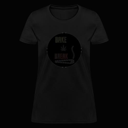 Bake Break Logo Cutout - Women's T-Shirt