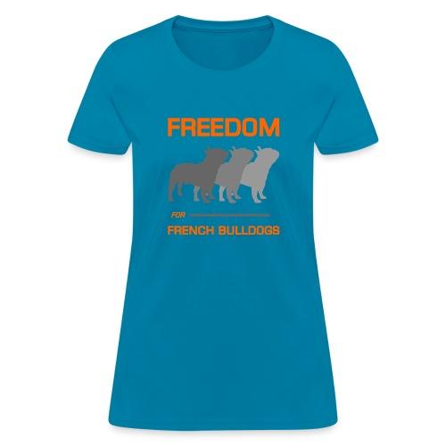 French Bulldogs - Women's T-Shirt
