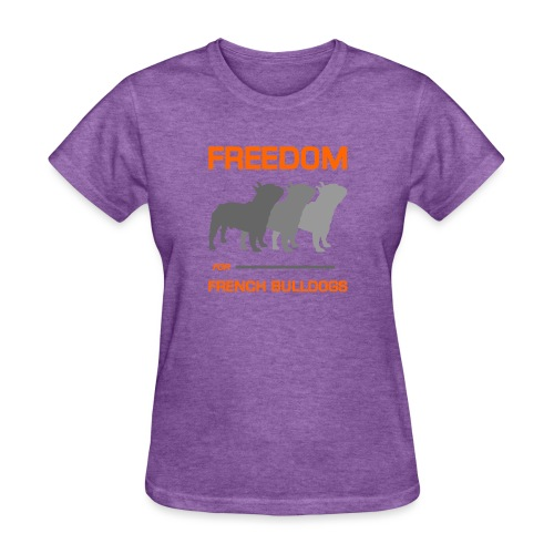 French Bulldogs - Women's T-Shirt