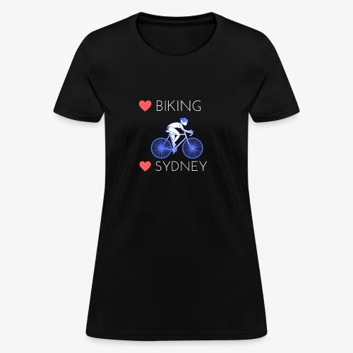 Love Biking Love Sydney tee shirts - Women's T-Shirt