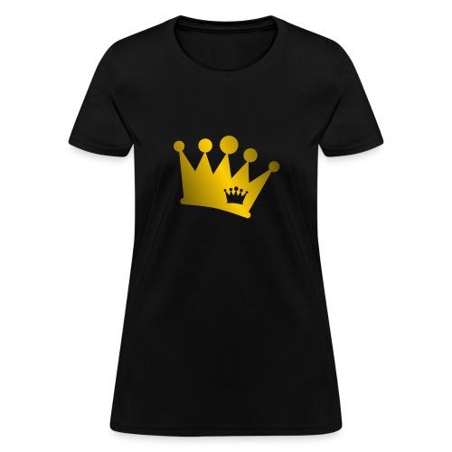 Double Crown gold - Women's T-Shirt