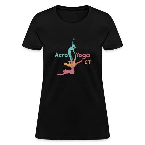Aerial Yoga - Women's T-Shirt
