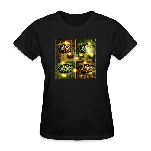 KFree Signature cosmic art - Women's T-Shirt