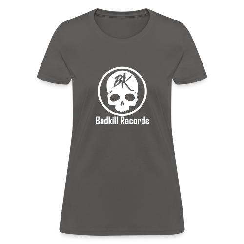 Badkill Logo White - Women's T-Shirt