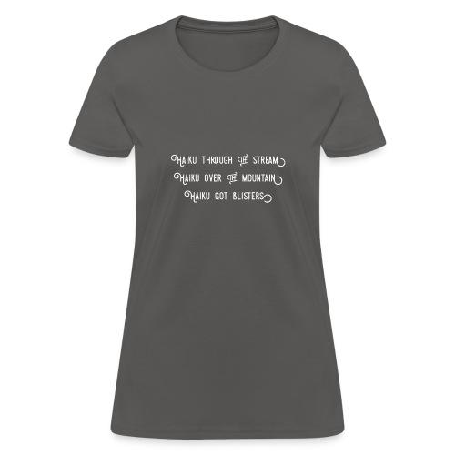 Haiku over the mountain - Women's T-Shirt